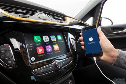 新一代欧宝可赛配IntelliLink互联系统 兼容CarPlay