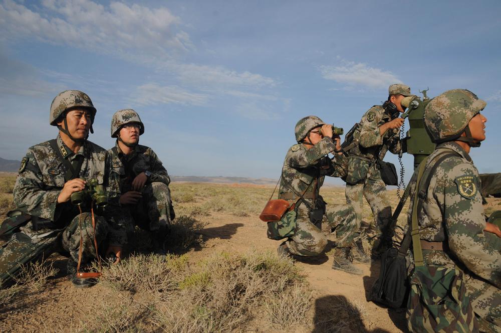 图:7月1日,解放军陆军防空兵部队进行跨区实弹演习/资料图片-聚焦