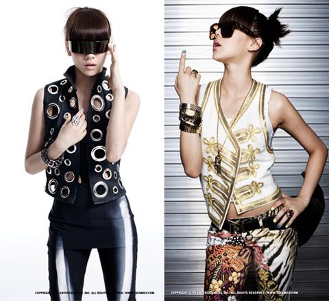 男有權志龍女有李彩琳 CL絕對是KPOP界的時尚女王