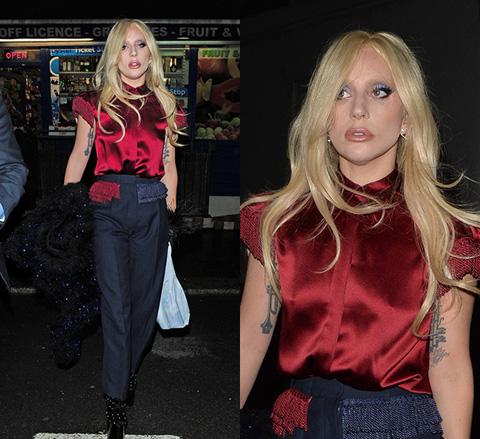 恢复正常后的Gaga实在是太好看啦!