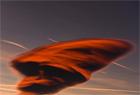 馬其頓天空現罕見莢狀雲