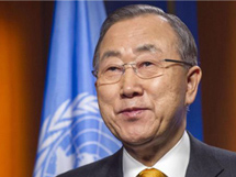 潘基文赞扬中国在全球应对气候变化领域发挥积极作用