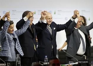 巴黎达协定全球齐抗暖