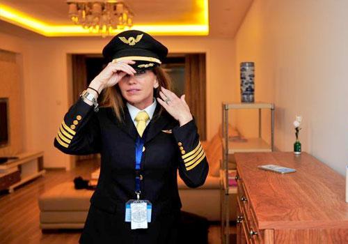 美國女機長的中國生活