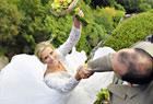 懸崖上的婚紗照 350英尺高的浪漫