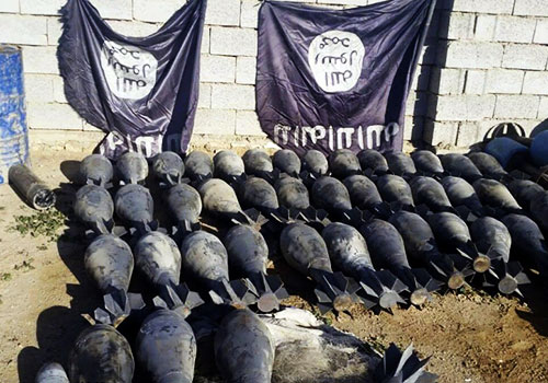 伊军收复重镇拉马迪部分城区 缴获大量武器爆炸物