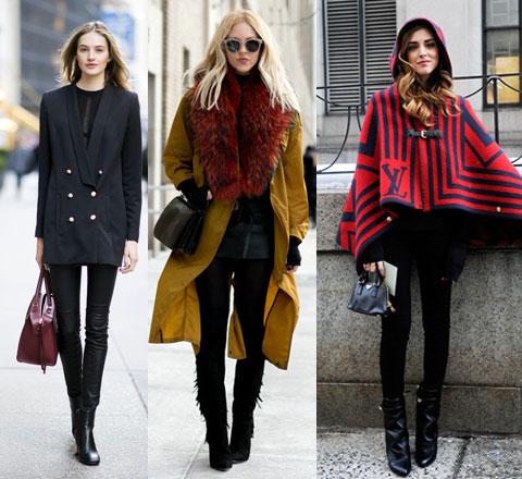 讓你瘦成閃電的黑色緊身褲 紅博主解鎖更多時髦搭法!