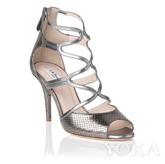 單品推薦:L.K.Bennett黑金色鏤空高跟鞋 價格:$425