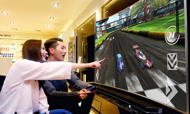 三星将联合索尼在CES发布多款智能电视游戏