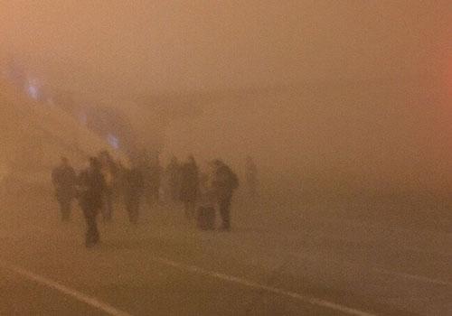 """霧霾又殺""""回馬槍"""" 北京再遇重污染"""