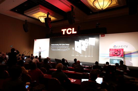 中国制造响彻CES,TCL QUHD量子电视树全球显示科技巅峰