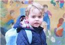 英喬治小王子上幼兒園首日 凱特王妃親拍兩張萌照