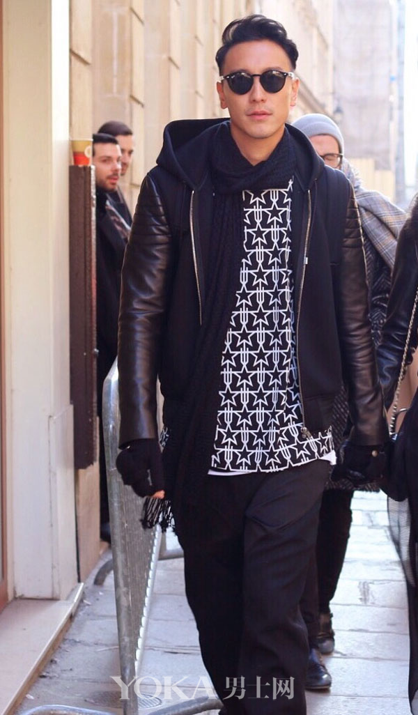 楊洋就是這麼穿 才在巴黎男裝周吸盡眼球