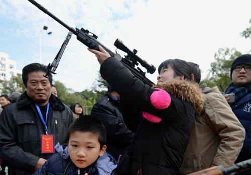 福建警營開放日 民眾近距離接觸高端警用設備