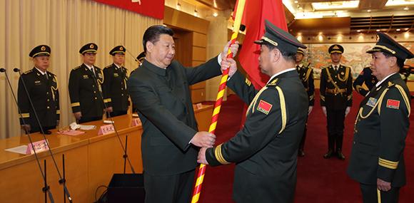 五大战区亮相 中国正式终结大军区体制