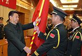 中國人民解放軍戰區成立大會在北京舉行