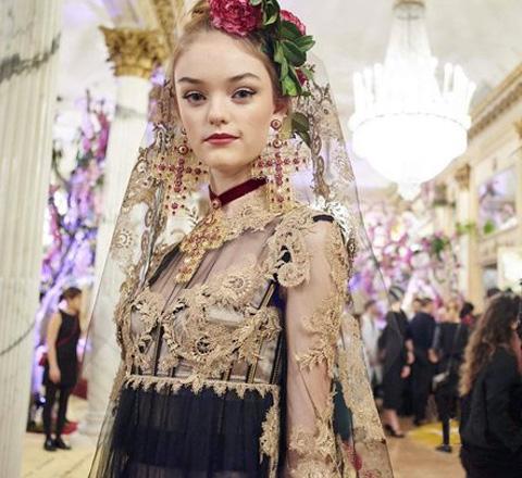 惊艳到哭 最不能错过的Dolce & Gabbana高定秀来了