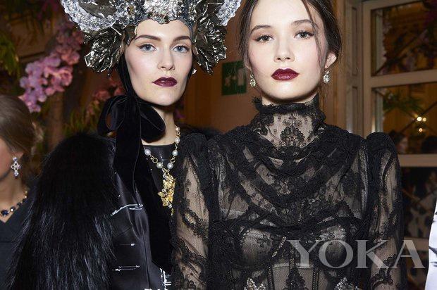Dolce & Gabbana 2016春夏高定秀後台