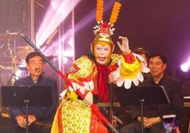 美猴王为华人送祝福