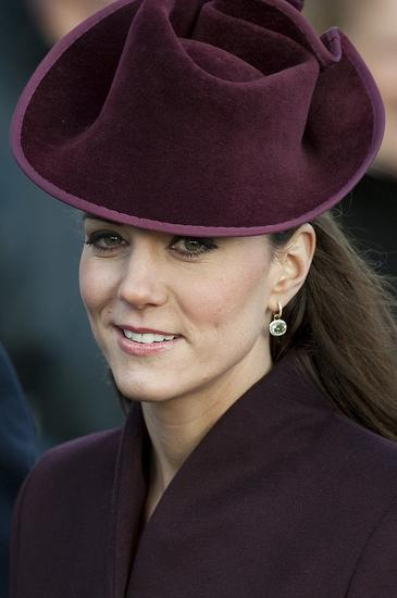 first-time-Kate-wore-her-green-amethyst-diamond-earrings