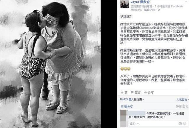 沈殿霞逝世8周年 女兒回憶學游泳往事超感人