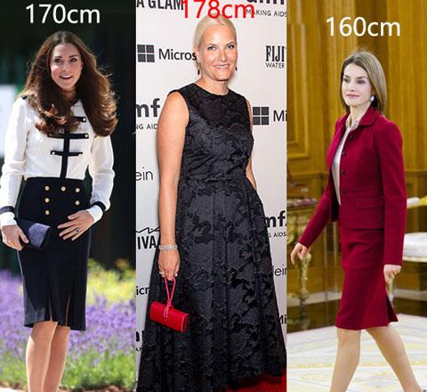 身高不是问题 从160到178的女人都嫁进了王室