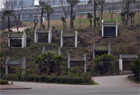 重庆中式商铺荒置远看似公墓