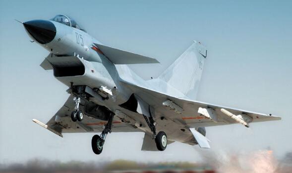 采用鸭式气动布局的中型战斗机资料图片