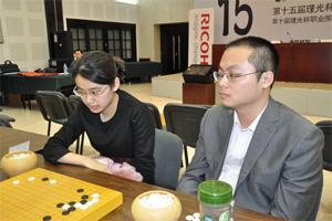 智运赛围棋展开混双赛 中韩最强组合会师决赛