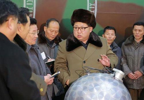 金正恩説將不斷更新核打擊手段