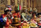 """实拍藏族""""80后""""的传统婚礼"""