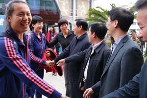 曝中国女排获100万奥运备战基金 郎平:受鼓舞