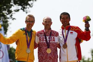 俄竞走名将伦敦奥运金牌被剥夺 中国铜牌或变银牌