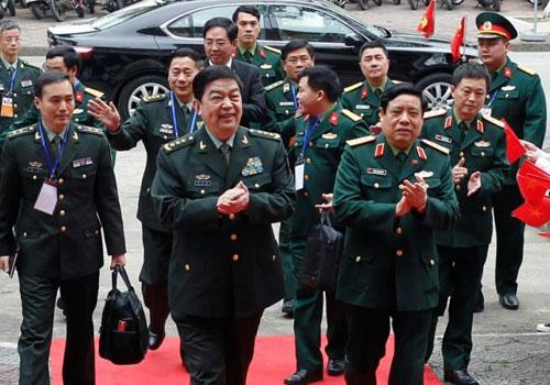 中越防長出席中越兩軍第三次邊境高層會晤