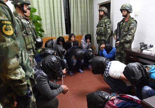 """廣東抓捕236名""""我是你領導""""電信詐騙犯"""