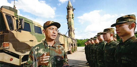 東風41料入列駐豫火箭軍 北斗定位精度達米級