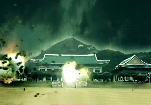 朝鲜威胁要轰炸韩国青瓦台 公布1分钟假设视频