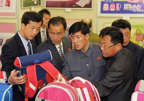 朝鲜国家产业美术展示会开幕