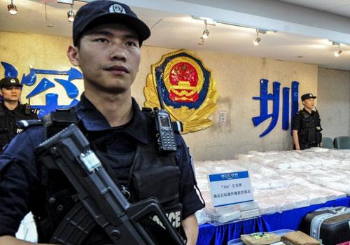广东警方破获特大跨境毒品案 缴获400公斤可卡因