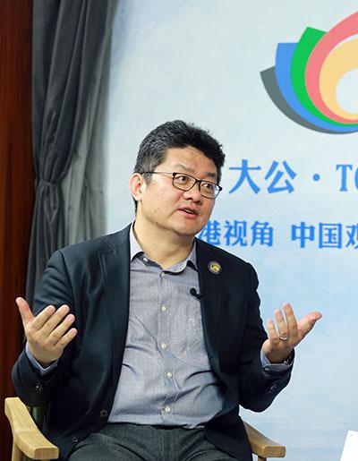 大公·TOP体育对话张斌(上):感恩赶上中国电视最好的时代