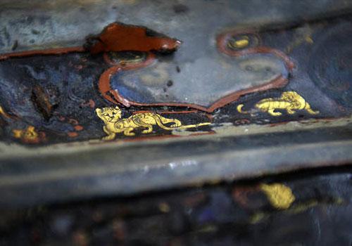 海昏侯墓内棺考古进入后期清理阶段