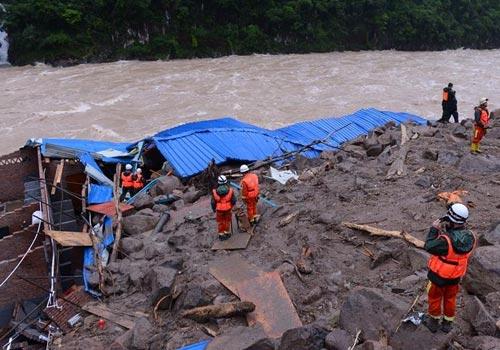 福建泥石流:失聯人數升至41人