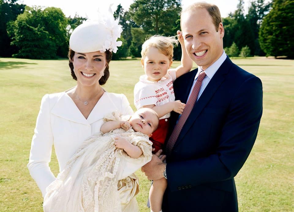英国小公主 Charlotte颜值直逼小王子