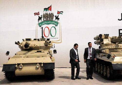 約旦國際特種作戰部隊武器裝備展開幕