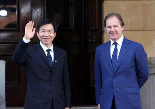 国际反腐败峰会在伦敦举行