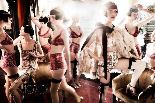 翻转100年 穿越世纪的时尚美人
