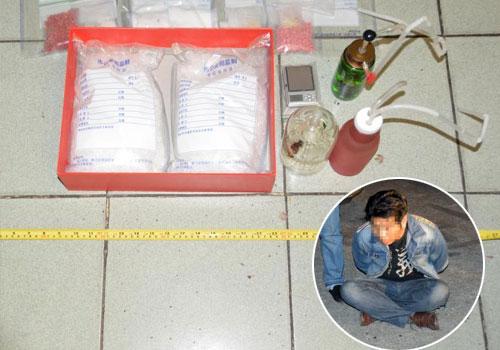 黑龍江警方繳獲冰毒18公斤