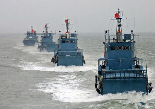 """神秘的""""中国空军海战队"""""""