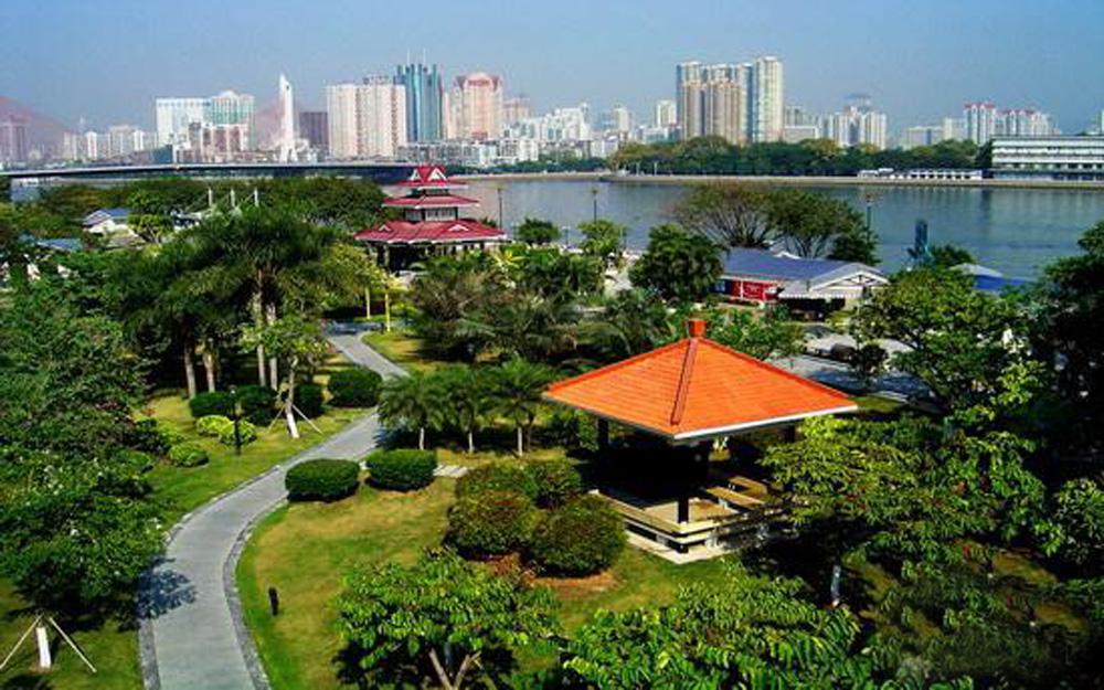 图:琶洲会展公园风景区  网络图片