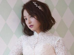 《太后》金智媛穿婚紗拍畫報 氣質優雅美如公主